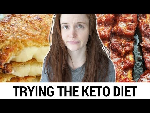 Trying the KETO DIET For A Week (Low Carb High Fat Diet)