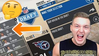 RESTARTING THE NFL WITH A FANTASY DRAFT! MADDEN 18 FRANCHISE