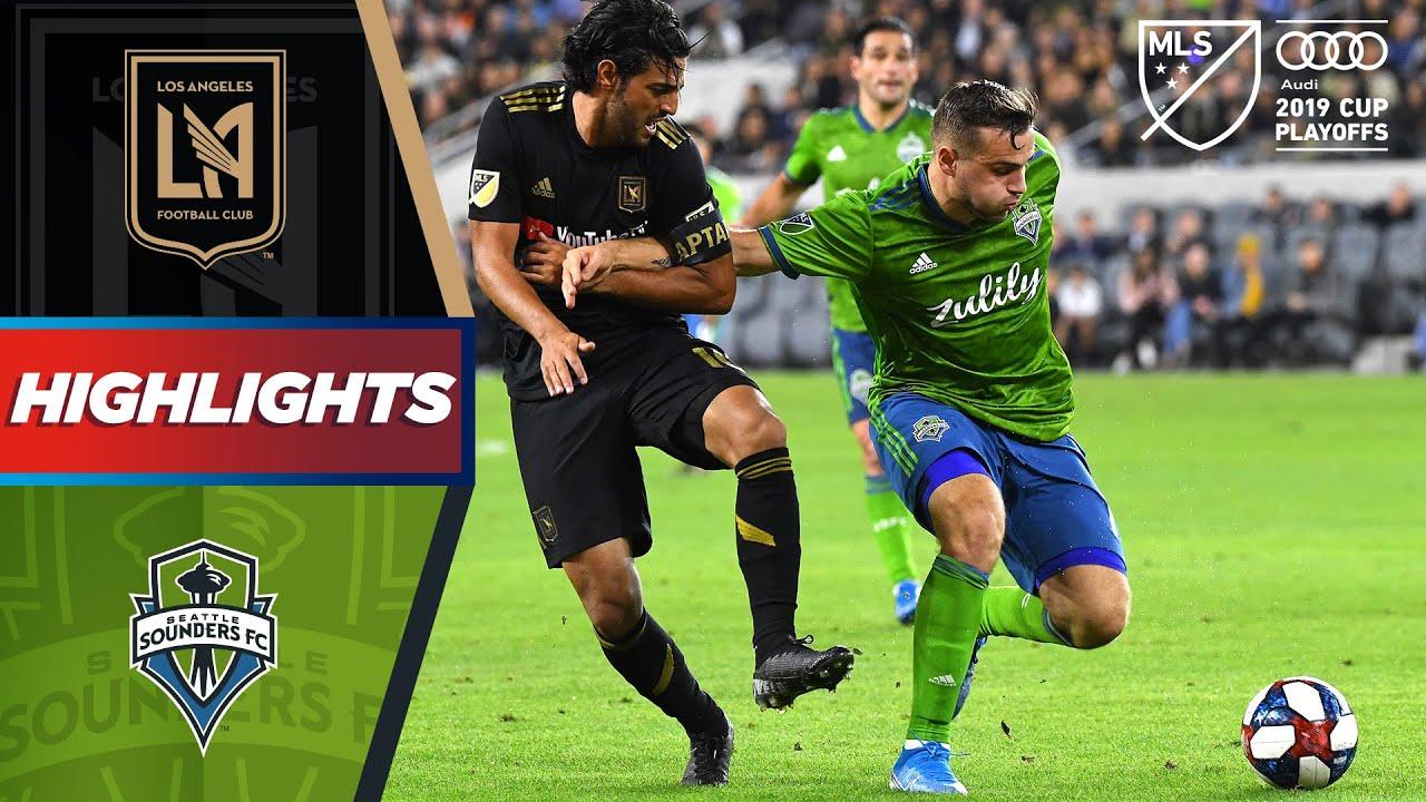 LAFC 1-3 Seattle Sounders   Sounders End Vela & LAFC's Historic Season   HIGHLIGHTS