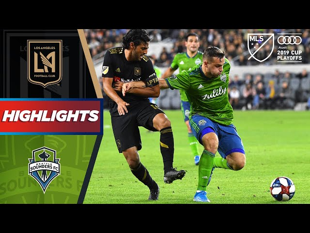 LAFC 1-3 Seattle Sounders | Sounders End Vela & LAFC's Historic Season | HIGHLIGHTS