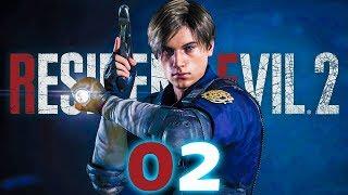 RESIDENT EVIL 2 PL #02 - Jest Kamerka Jest Jump Scare!    RE2 2019 GAMEPLAY VERTEZ