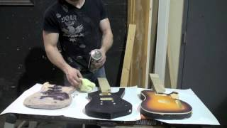 How to paint your guitar: Sealer and base coat (part 3 of series)