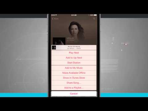 iPhone 6 Tips - How to Create Playlists in Apple Music
