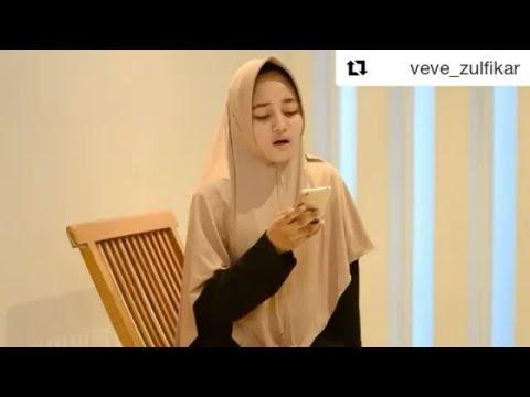 Gadis Cantik Veve Zulfikar Shalawat Syifa Thibbil Qulub Merdu Pake Banget