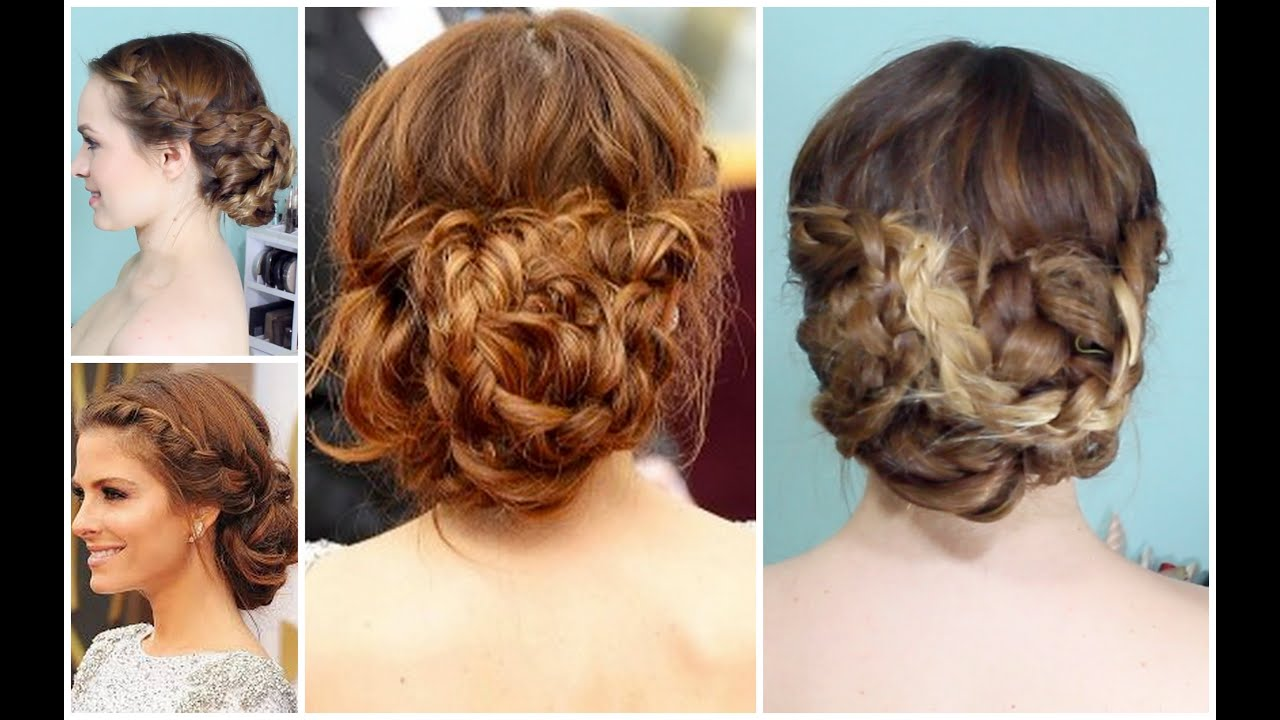maria menounos oscars 2014 updo - perfect for prom! - youtube