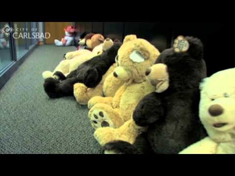 Police Deliver Teddy Bears