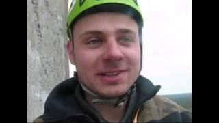 wejście na komin 150m balkon 60m Wistom Tomaszów Mazowiecki