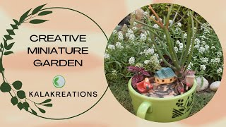 Hi to all garden lovers, . We are back with another exciting creative gardening video - . A MINIATURE GARDEN. .An easy step by step DIY video tutorial to make ...