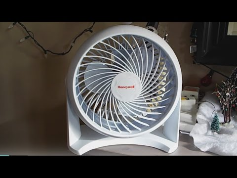 Review #2: Honeywell HT-904 Turbo Fan