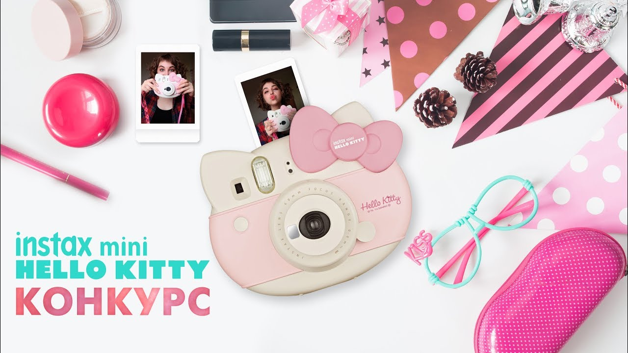 HELLO KITTY INSTAX CAMERA - YouTube