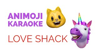 iPhone X Animoji Karaoke - Love Shack