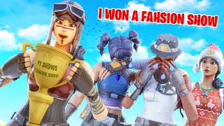 I Stream Sniped a Fortnite Fashion Show and won.. (really funny)