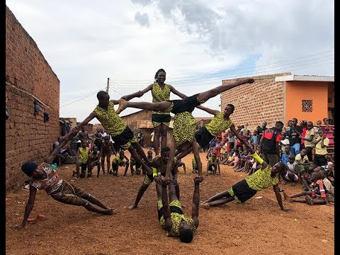 Talent found in Africa 'Uganda'