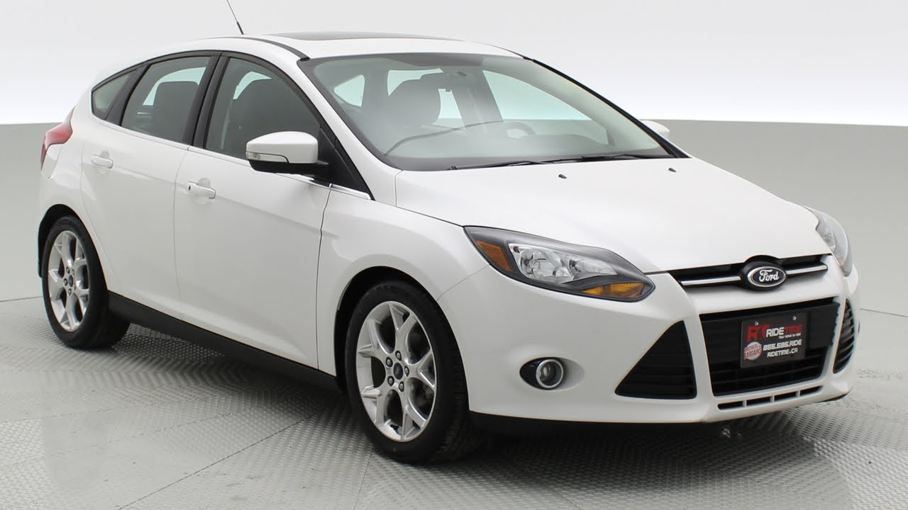 2014 ford focus titanium hatchback by ride time 87 oak point hwy youtube. Black Bedroom Furniture Sets. Home Design Ideas