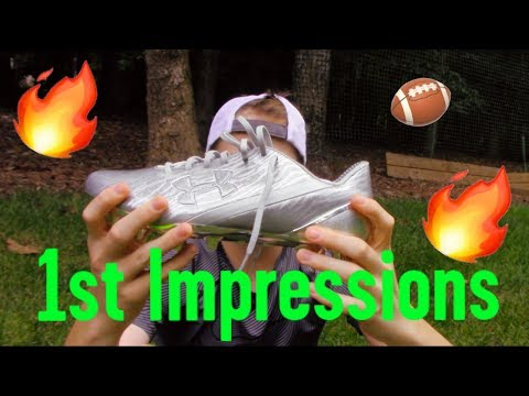 UA Spotlight CHROME Football Cleats || First Impressions