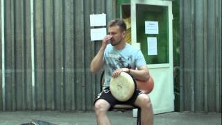 Уроки дарбуки, как играть на дарбуке. МК Барабаны мира 2015 (часть 2)