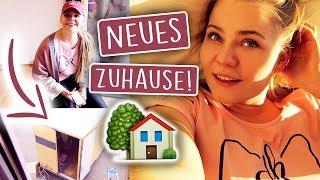 UMZUGSCHAOS! 😱📦 (Vlog) + Katzen Eingewöhnung im neuen Zuhause! (Teil 1)