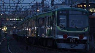 2017年 11月14日 東急7000系 甲種輸送 府中本駅付近にて