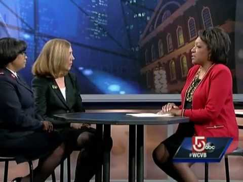 Goodwill ceo joanne hilferty talks holidays on cityline for What does the ceo of goodwill make