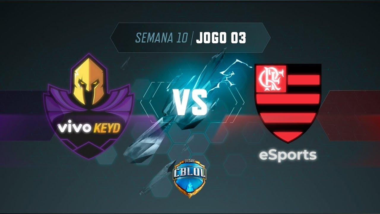 CBLoL 2019: Vivo Keyd x Flamengo (Jogo 3) | Fase de Pontos - 1ª Etapa