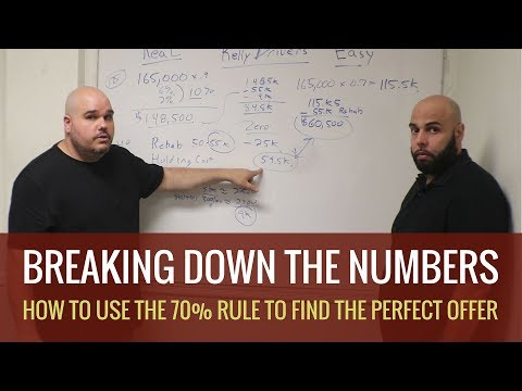How to use the 70 percent Rule in your Real Estate Wholesale Formula