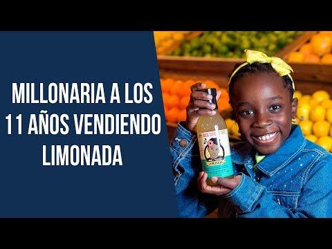 Se hizo millonaria a los 11 años vendiendo limonada - Mikaila Ulmer 🍋