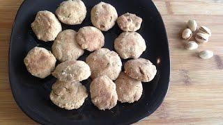 Pistachio Nankhatai Recipe (Simple Pistachio Cookies)