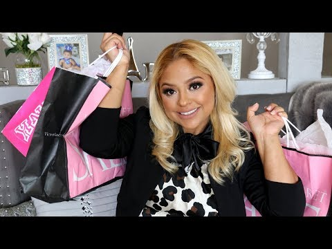 💗VICTORIA SECRET/ PINK SEMI ANNUAL SALE HAUL (TIPS ON HOW TO SAVE)💗 JANUARY 2018 | LESLIE JOANNA