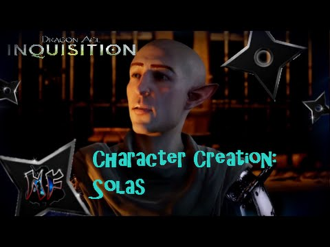Dragon Age Inquisition | Character Creation - Solas (Start With A Qunari  Instead?) | PS4