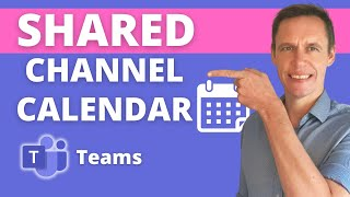 How to add a shared calendar in Microsoft Teams