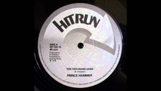 Prince Hammer - Ten Thousand Lions 12""