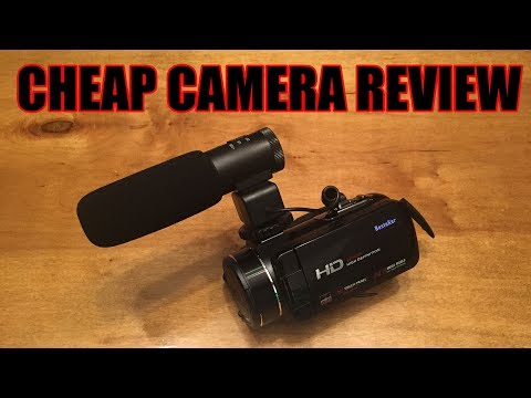 Andex Full HD 1080p Camcorder - Cheap Camera Review