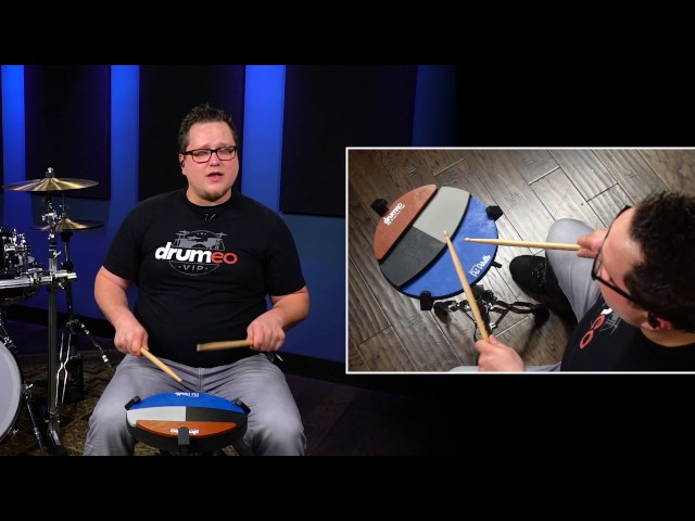 Ten Stroke Roll - Drum Rudiment Lesson (Drumeo)