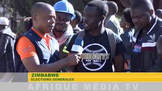 ZIMBABWE ELECTIONS GÉNÉRALES