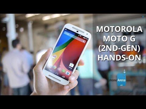 Motorola Moto G (2nd-gen) hands-on