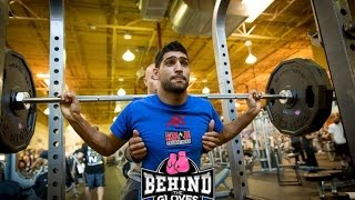 A Strength & Conditioning Session With Amir Khan And Tony Brady