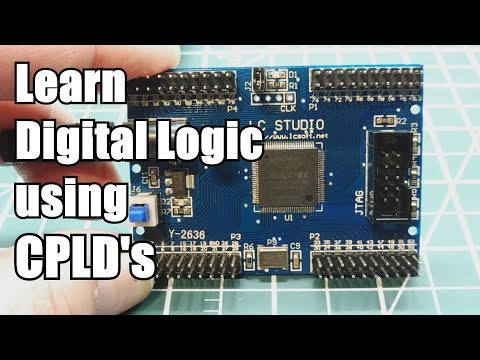 Learn Digital Logic Circuits Using CPLD's