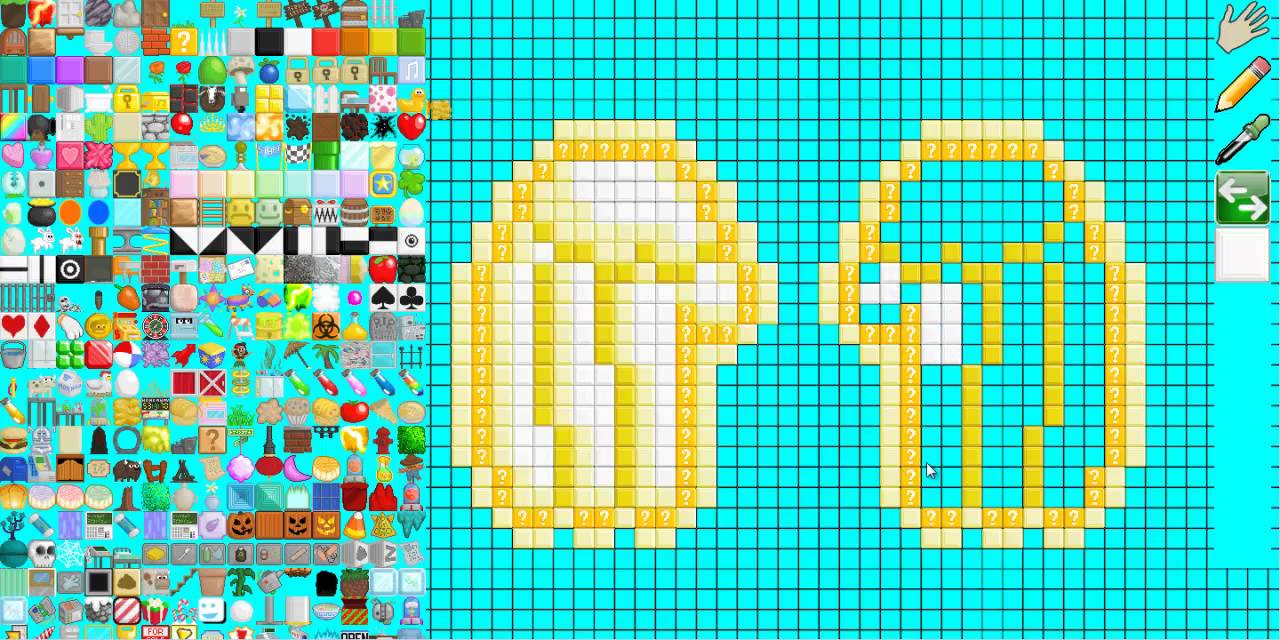 Growtopia Speed Art Pixel Art Golden Angel Wings Growtopia