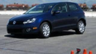 2010 Volkswagen Golf TDI   Track Test