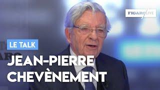Le Talk de Jean-Pierre Chevènement: «Nos institutions sont grippées par le quinquennat»