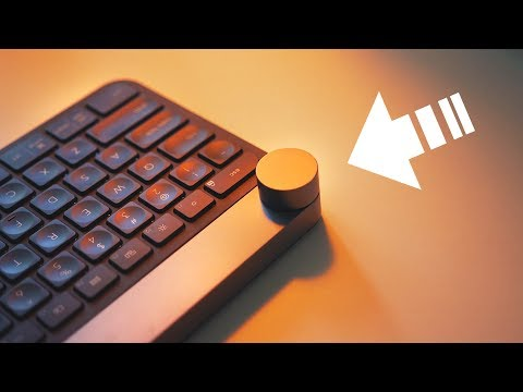 This Dial Controls Everything! -- Logitech Craft Keyboard