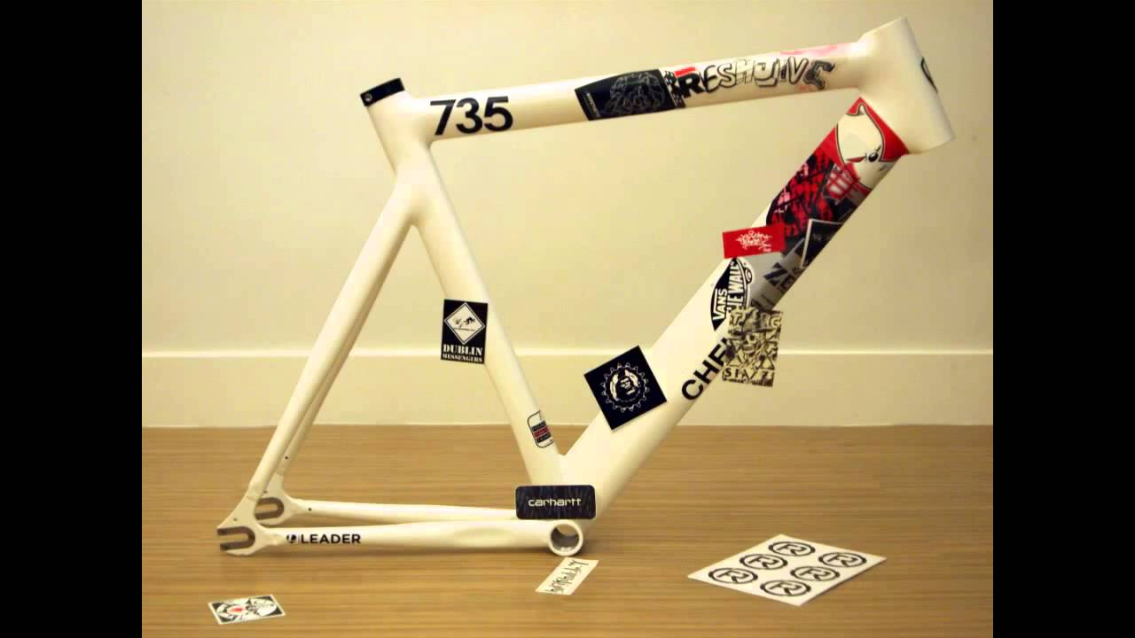 A set of quality stickers for a bicycle | Aliexpress - YouTube