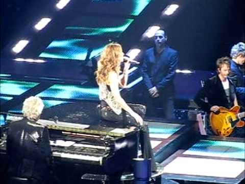 2008-09-16 Celine Dion Taking Chances At Medison Squaer Garden