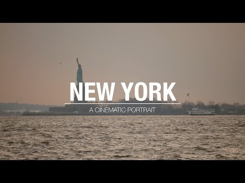 New York - A cinematic portrait