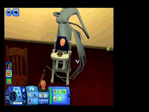 Sims 3 Glitch 3 Deformed Toddler Hourse Thingamajig