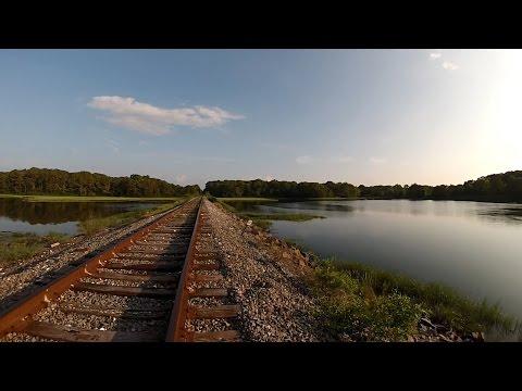 HD: GoPro: A Ride Aboard Mass Coastal 2009 (Part 1: Trailing)