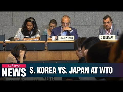 WTO's General Council set to discuss S.Korea-Japan trade dispute this week