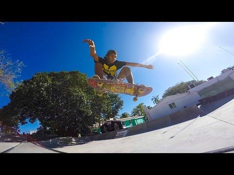 Playa Del Carmen , Dif Skatepark Montage , Mexico , Mitch Faber.