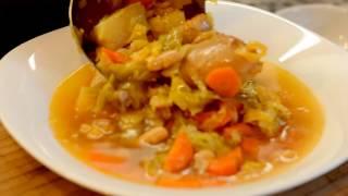 щи в скороварке рецепт со свежей капустой