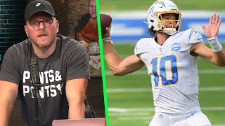 "Pat McAfee ""It is Time For Justin Herbert To Take Over?"""